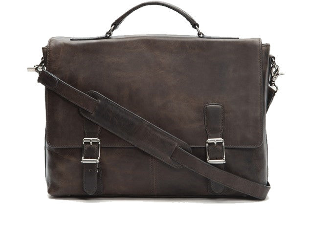 Frye Logan Top Handle Leather Briefcase