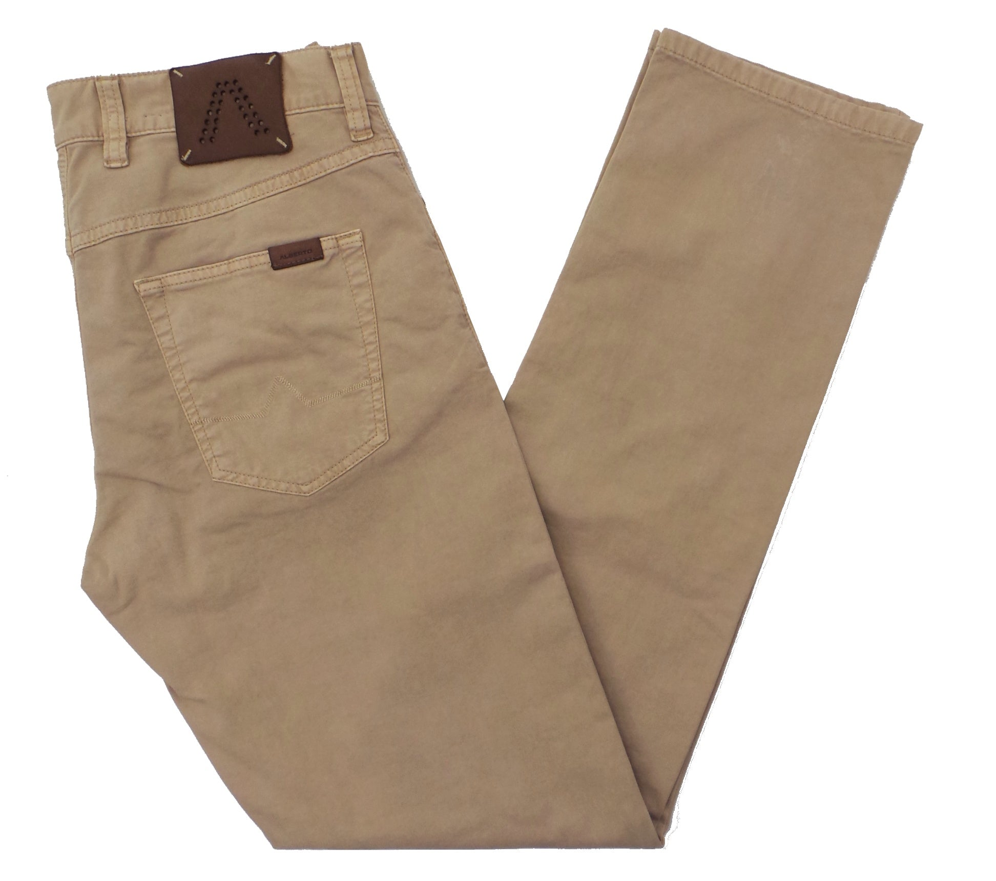 Alberto Pipe 1903 Regular Fit Broken Twill 5 Pocket Pants