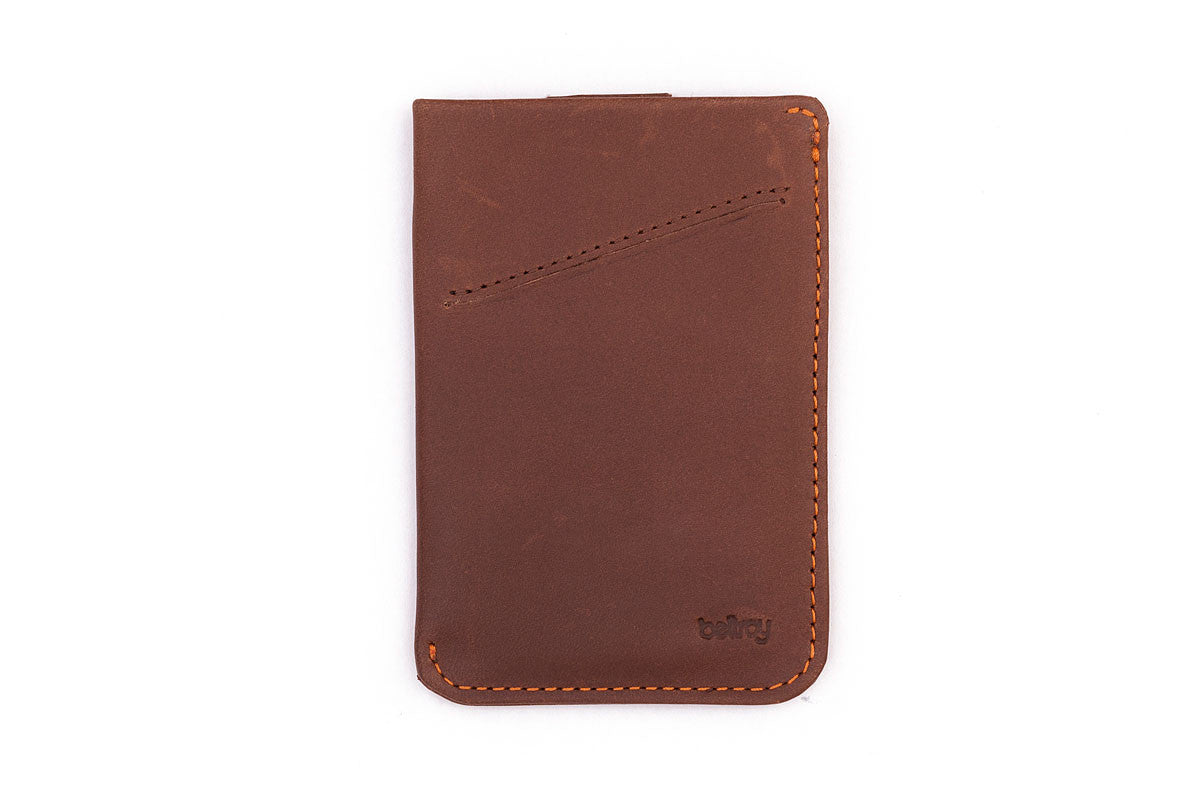 Bellroy Card Sleeve Veg Tanned Leather Wallet