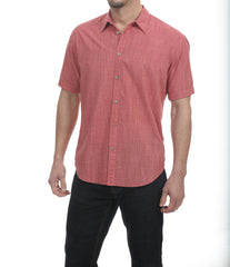 Coastaoro New Joya Micro Plaid SS Shirt