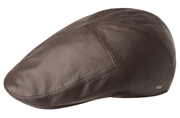 Bailey of Hollywood Langham Genuine Lambskin Leather Cap