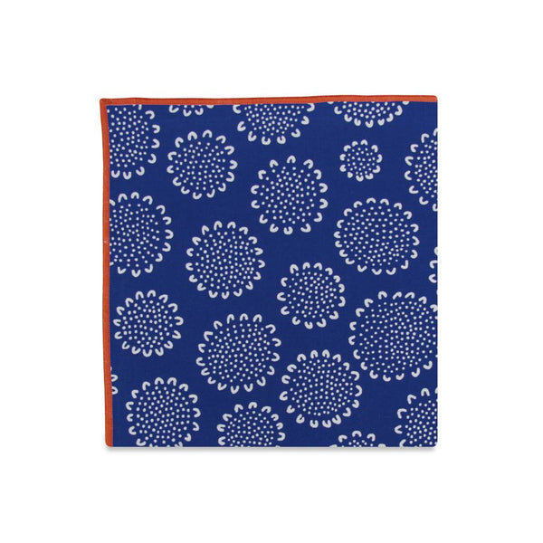 PSC Nigel Artistic Floral Cotton Pocket Square