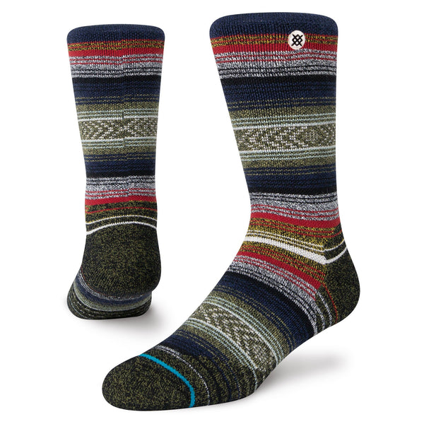 Stance Windy Peak Mid Cushion Merino Wool Blend Hiking Socks
