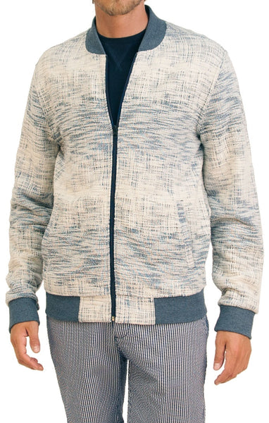 Civil Society Double Knit Jacquard Bomber