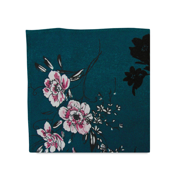 PSC The Phillipa Floral Print Pocket Square