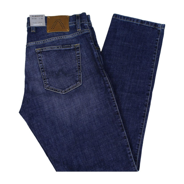 Alberto Tommy 1896 Comfort Fit Authentic Denim Jeans