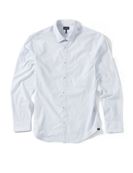 Good Man Brand Geo Dot Woven Pattern Shirt