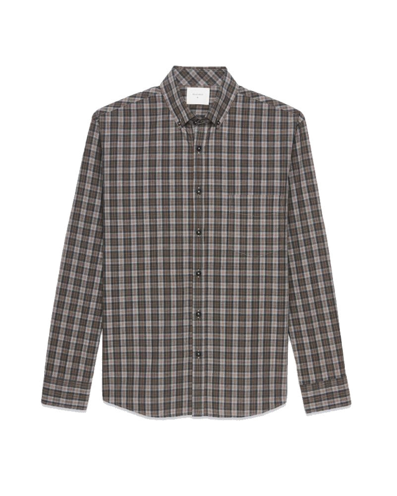 Billy Reid Rosedale Plaid Button Down Shirt