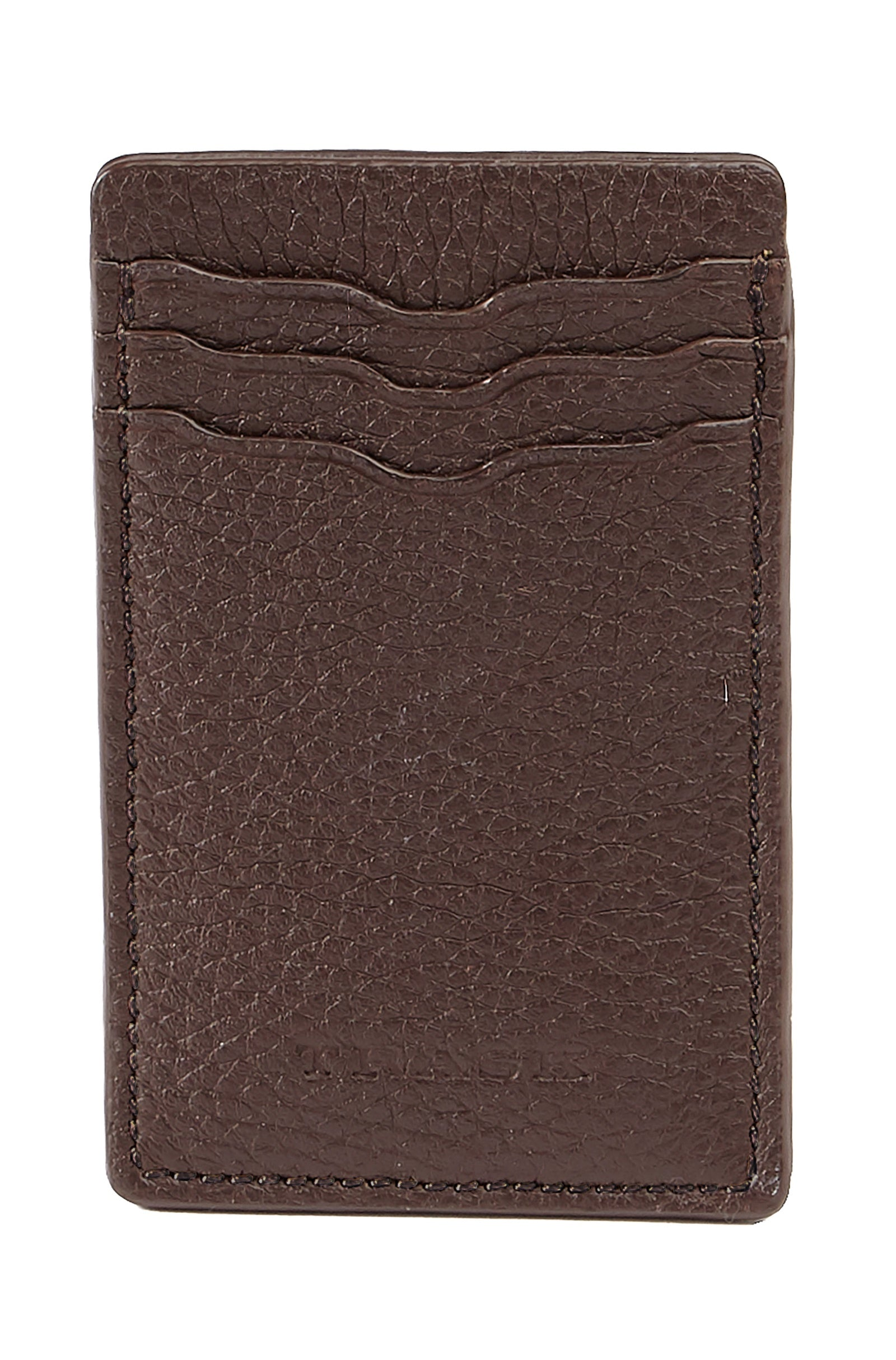 Trask Jackson Magnetic Money Clip Front Pocket Soft Leather Wallet