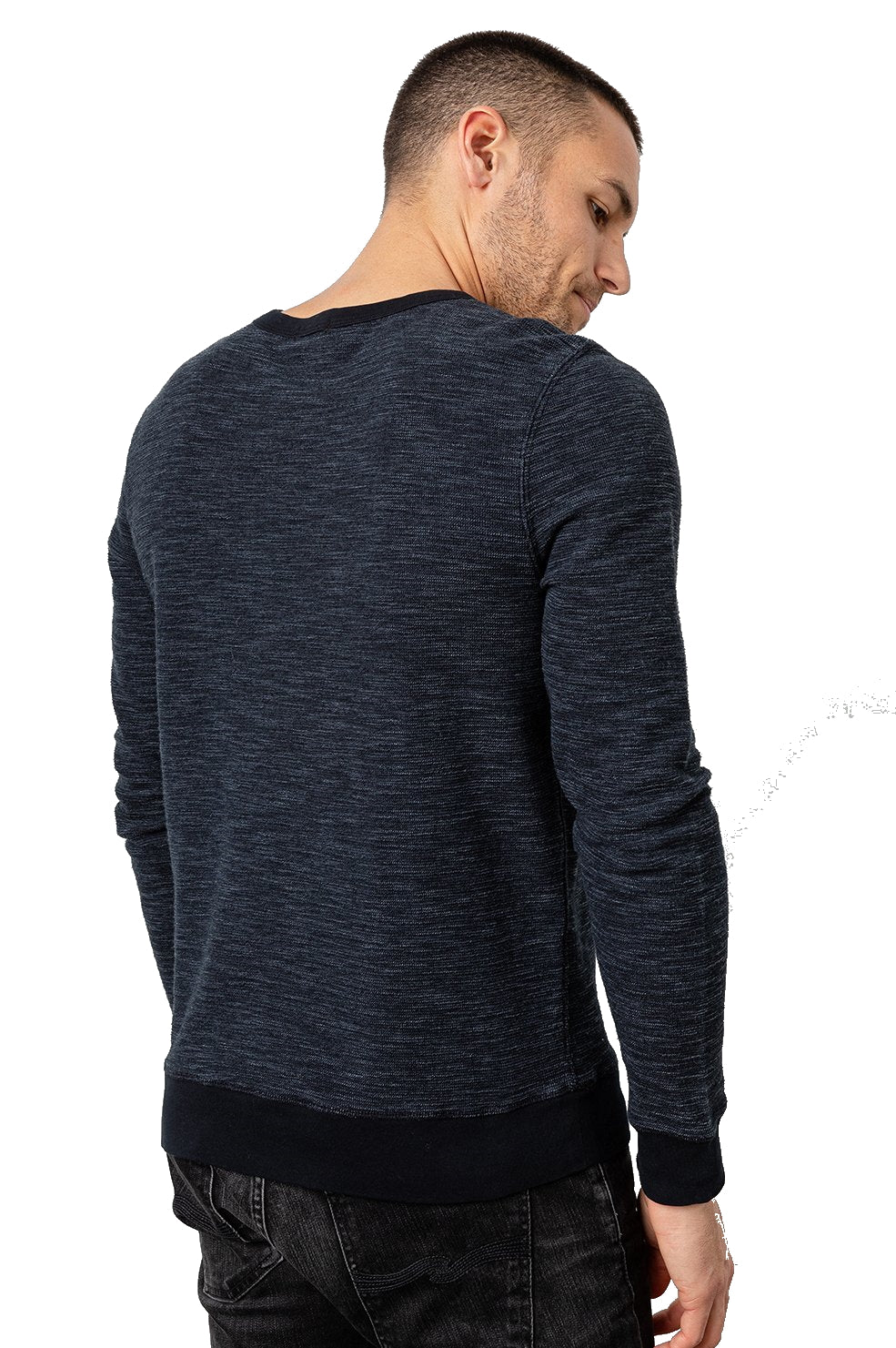 Rails Geoffrey Textured LS Crew Neck