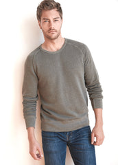 Velvet by Graham & Spencer Vern Terry Interior LS Raglan Crew