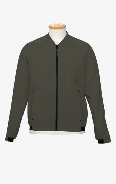 Alchemy Equipment AEM207 Featherweight Light Wool Blend Bomber Jacket