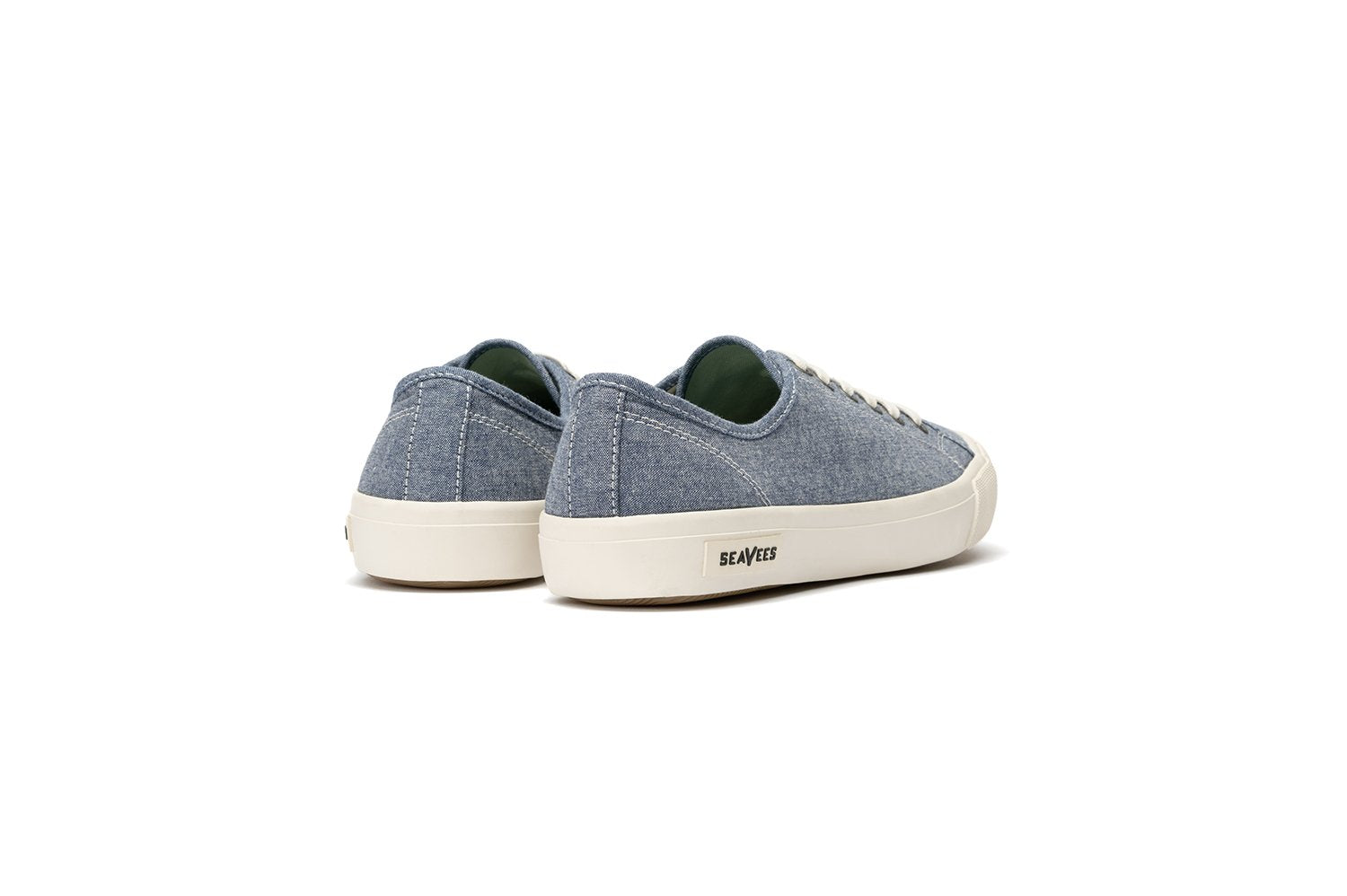 SeaVees Monterey Classic Denim Chambray Sneakers