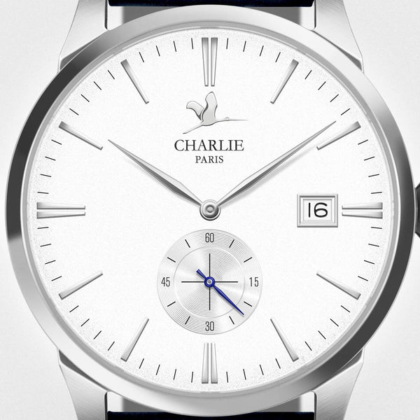 Charlie Paris Bastille B4.6 White Miyota Quartz Watch