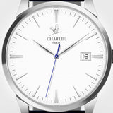 Charlie Paris Bastille White Miyota Quartz Watch