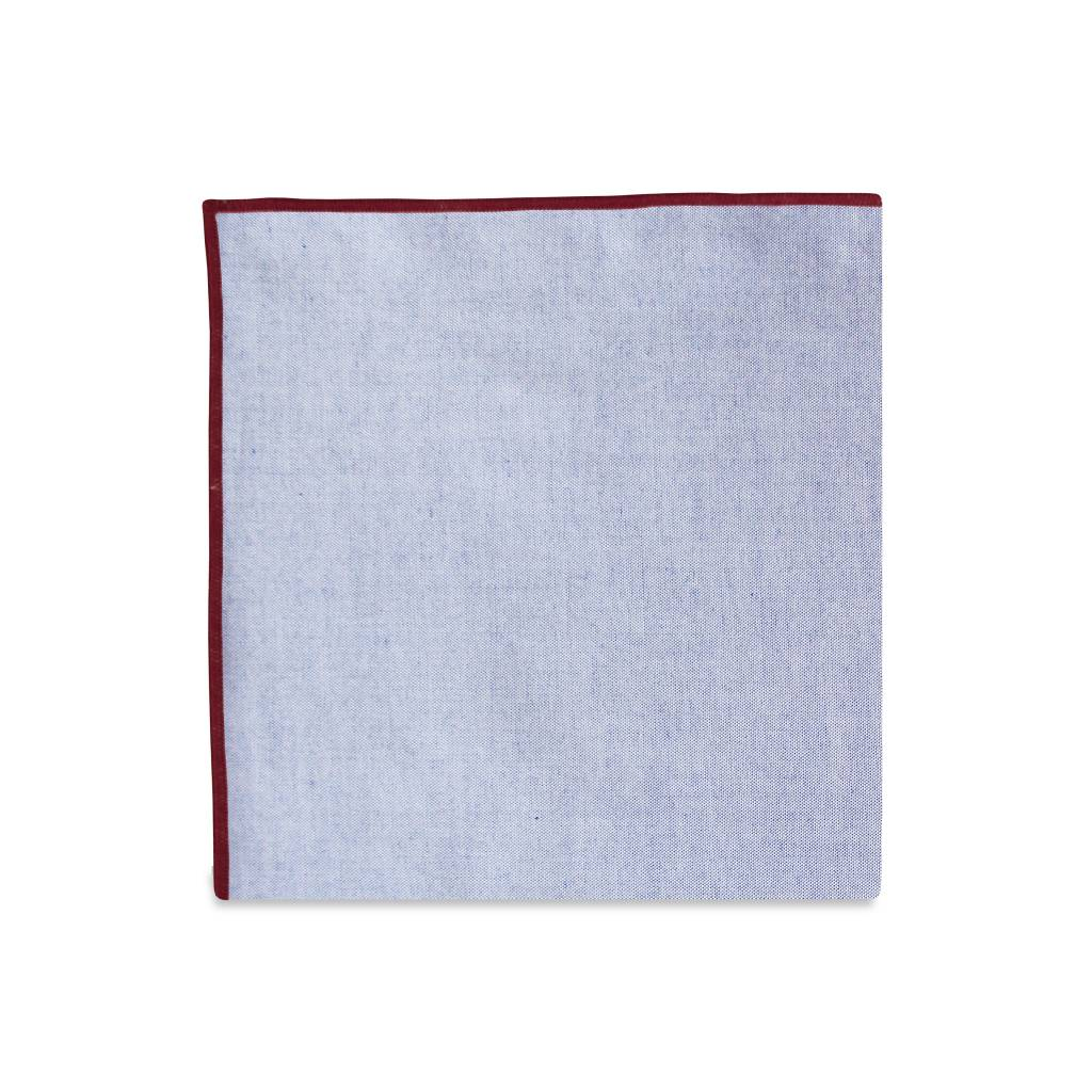 PSC Merrow Subtle Accent Pocket Square