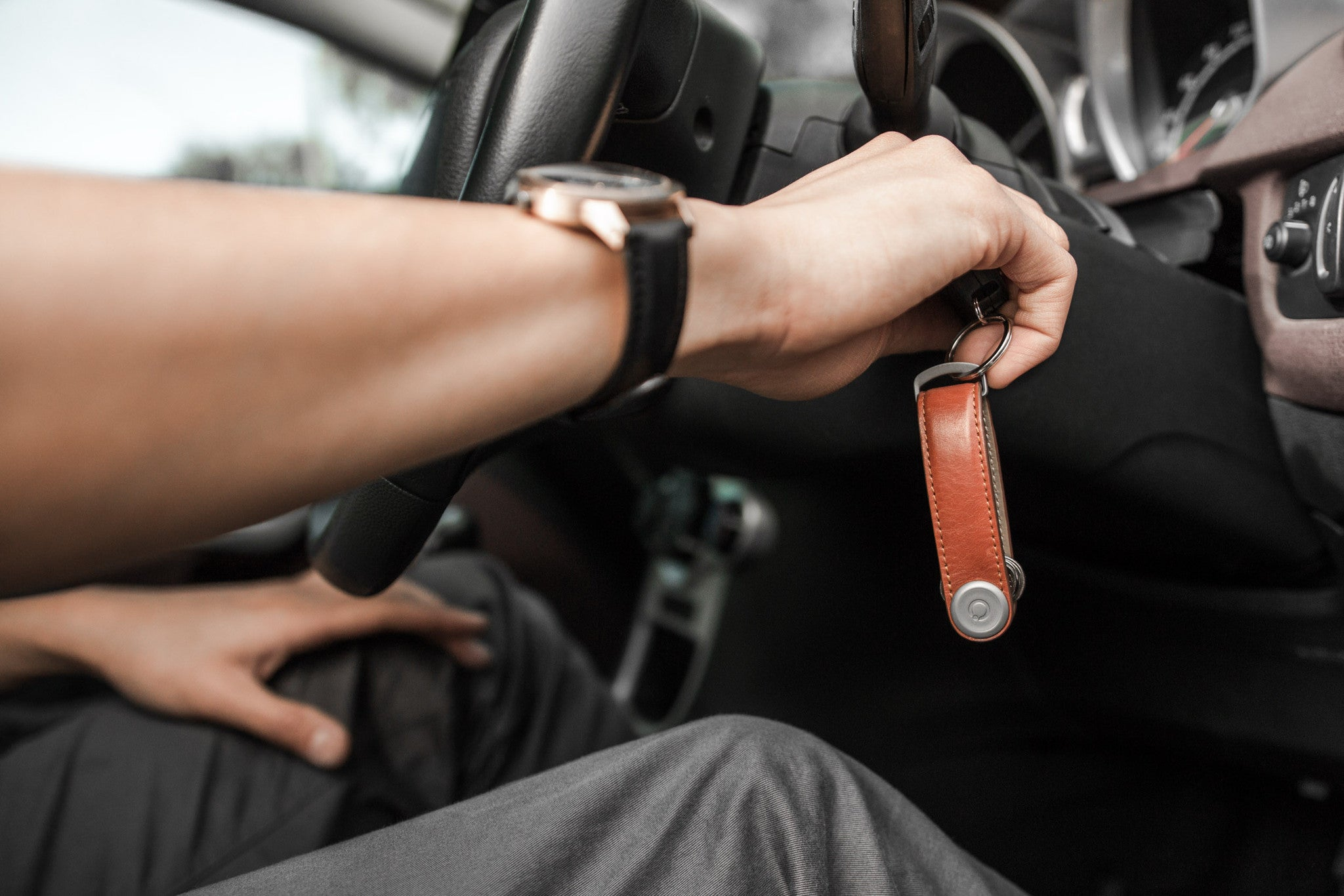Orbitkey 2.0 Leather Key Holder and Organizer
