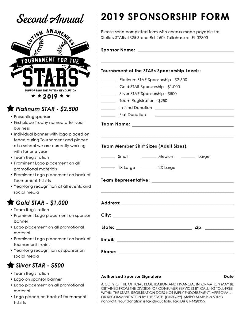 2019 Tournament for the STARs
