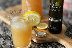 Sparkling Honey Ginger Lemonade