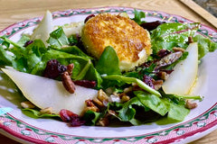 Island Olive Oil's Crispy Goat Cheese Salad