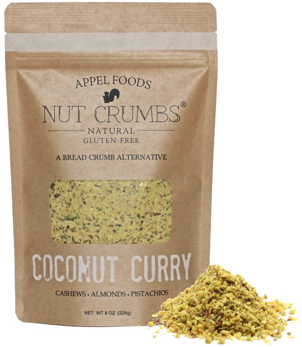 Appel Foods Coconut Curry Nut Crumbs