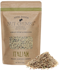 Appel Foods Italian Flavored Nut Crumbs