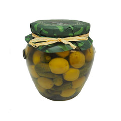 Gherkin Stuffed Olives - 20oz Jar