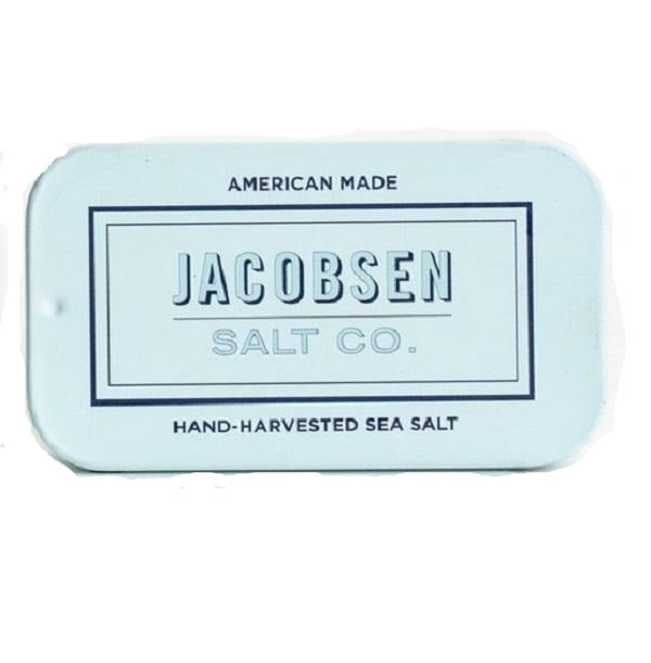 Jacobsen Salt Company - Pure Flake Finishing Salt Sliding Tin (0.42 oz.)