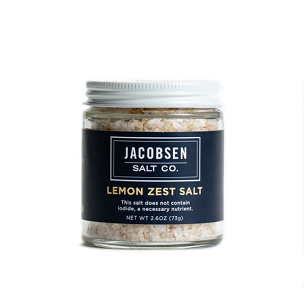 Jacobsen Salt Company - Lemon Zest Salt