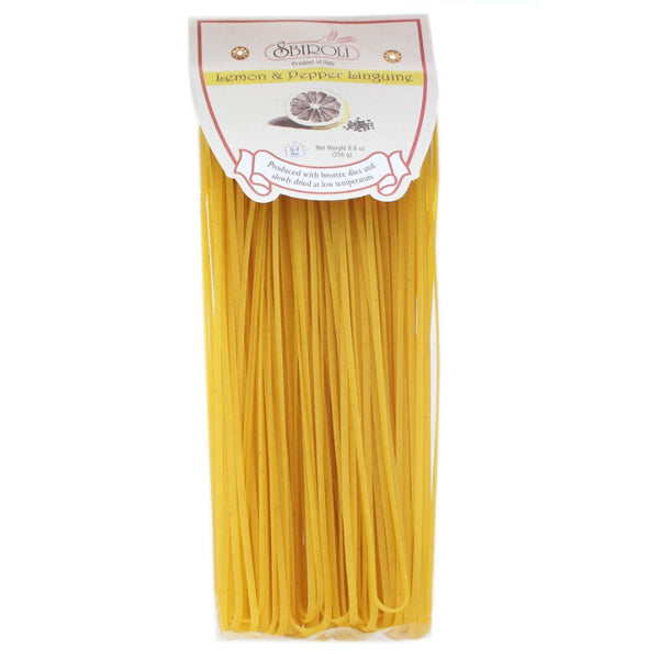 Sbiroli Lemon and Pepper Linguine