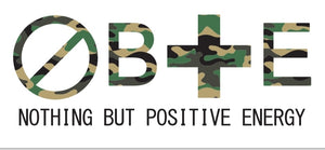 Camouflage: Unisex Nothing But Positive Energy Short Sleeve T-Shirt
