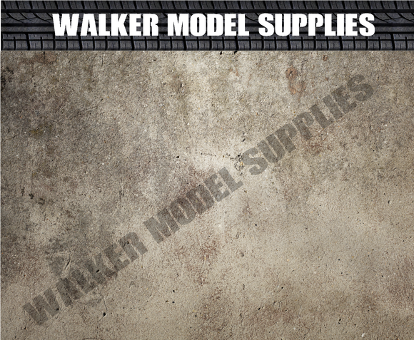 3xa4 1:18 scale garage wall-remove and apply//model car 26