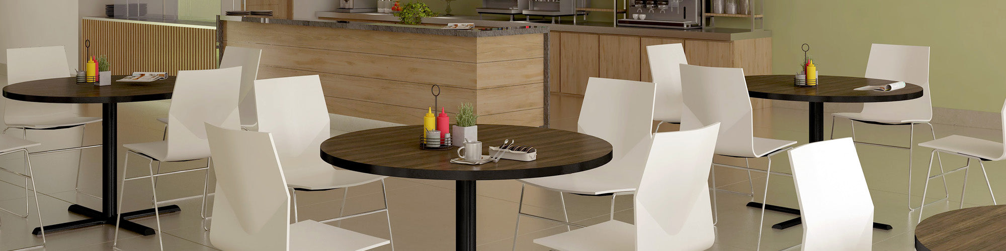 CAFÉ & BREAKROOM TABLES