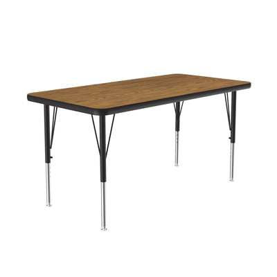 High Pressure Activity Tables — Rectangular, Wood Grain Tops