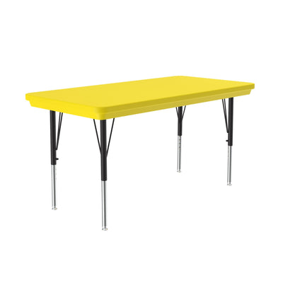 Heavy Duty Commercial Plastic Activity Tables