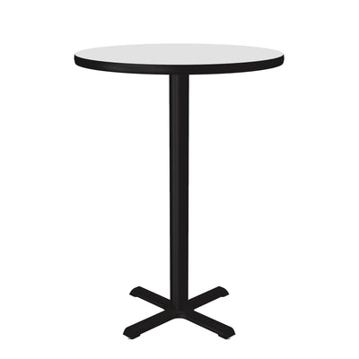 "Café & Breakroom Table — 30"" Cross Base Bar Stool/Standing Height"