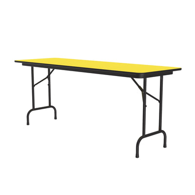 Commercial High-Pressure Folding Tables, Standard Height — High Intensity Colors