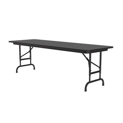 Econoline Melamine Folding Tables — Adjustable Height