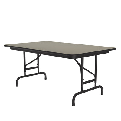 Commercial High-Pressure Folding Tables, Adjustable Height