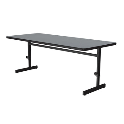 Econoline Melamine Computer & Training Tables — Adjustable Height