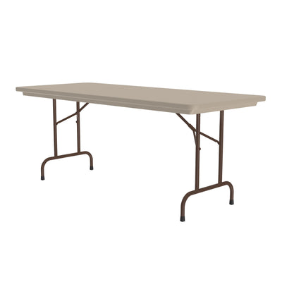 Heavy Duty Commercial Plastic Folding Tables — Standard Height (R1872, R2448, R3060, R3072, R3096)