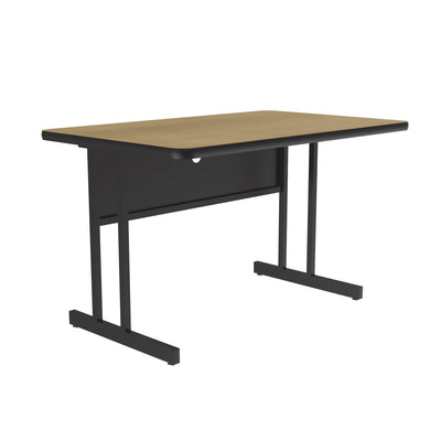 Econoline Melamine Computer & Training Tables — Desk Height
