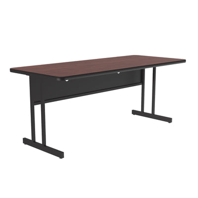 High-Pressure Computer & Training Tables — Desk Height Work Station
