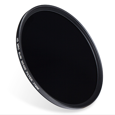 ND filters on photography and cinematography