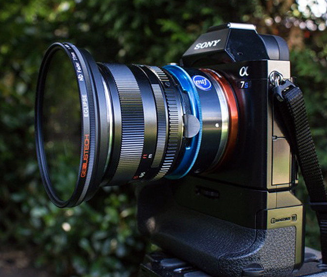 Sony A7s with ND Fader Filter, genustech eclipse