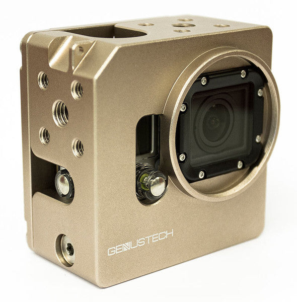 Genus Cage For GoPro Hero 4 With LCD Battery BacPac