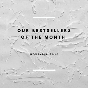 Bestsellers For The Month Of November 2020