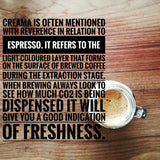 crema, espresso, bullet coffee, co2