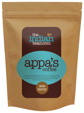 appa's 100% Arabica Coffee from Kodava, Karnataka.