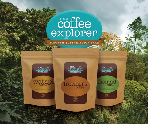 Coffee Explorer - 3 month subscription Pack